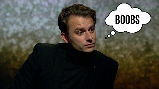 Dapper Laughs - thinking the word Boob